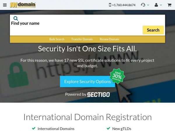 101domain - Domain names - Website Services - Brand and Corporate Solutions - Domain Management & Security