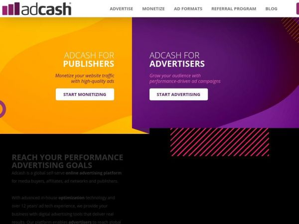 Adcash | International Advertising Network & Technology
