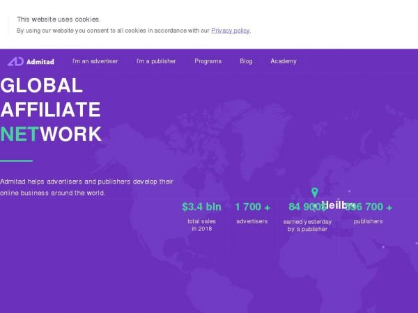 admitad – The biggest CPA Affiliate network