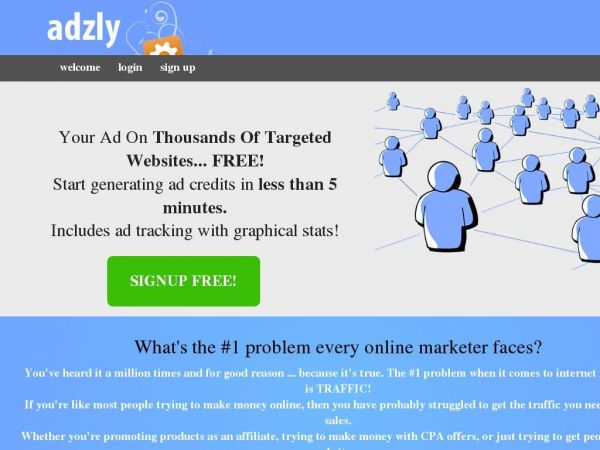 adzly - A Powerful FREE Marketing Tool!