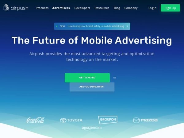 Mobile Ad Network | Mobile App Monetization - Airpush
