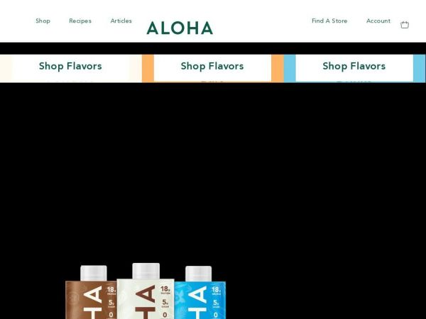 ALOHA - Organic, plant-based products & nothing artificial