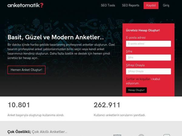 anketomatik.com raporu