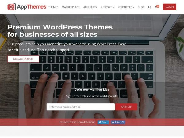 Premium WordPress Themes | AppThemes