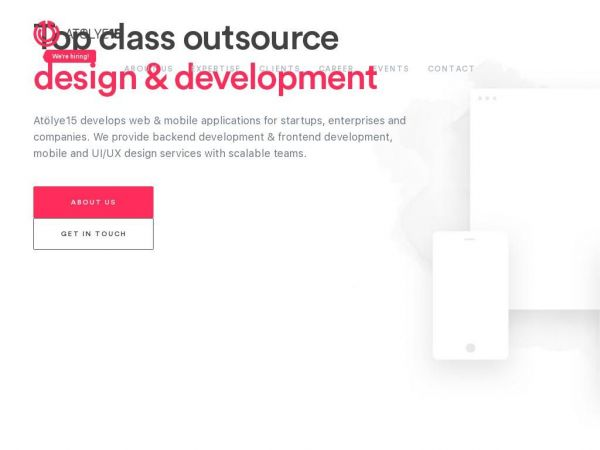 Atölye15 - Top class outsource Design & Development