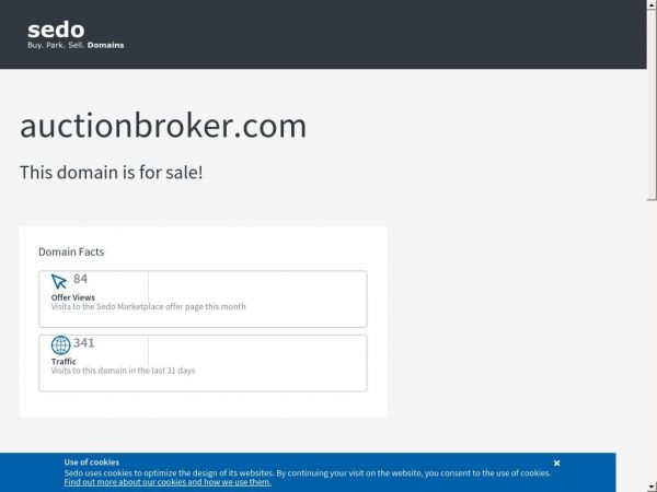auctionbroker.com is available for purchase - Sedo.com