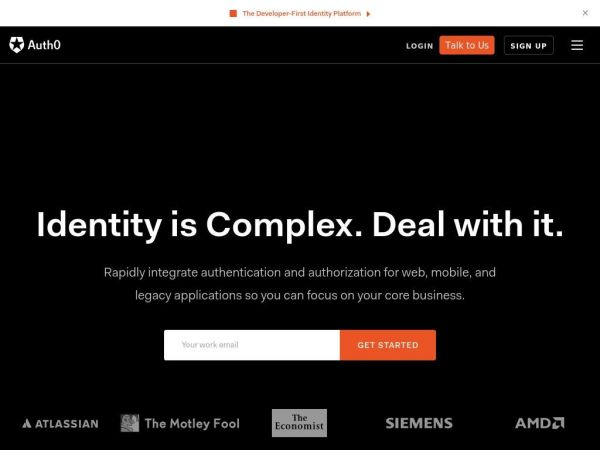 Auth0: Identity is Complex. Deal with it.