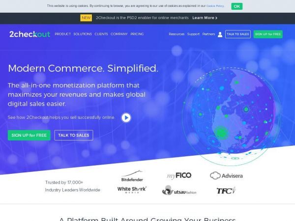 Powering Digital Commerce for Software & SaaS Companies