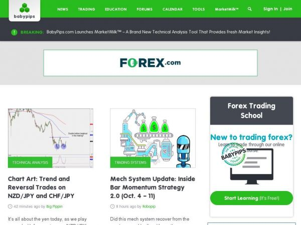 Learn Forex Trading With BabyPips.com