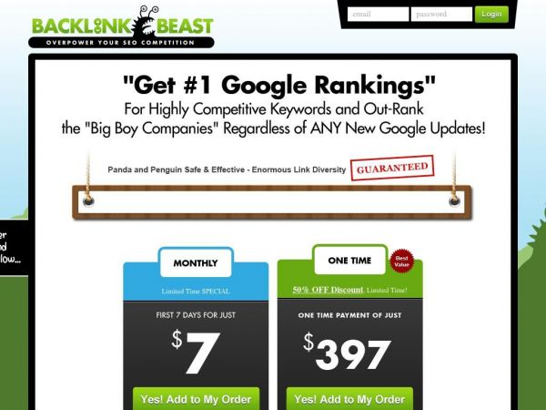 #1 Best SEO Link Building Software - Backlink Beast