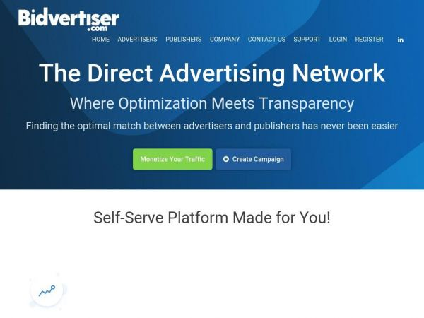 BidVertiser - Pay Per Click Advertising On Sites Of Your Choice.