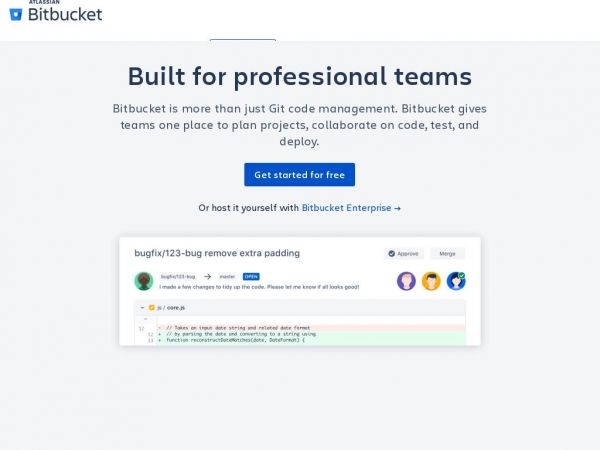 Bitbucket — The Git solution for professional teams