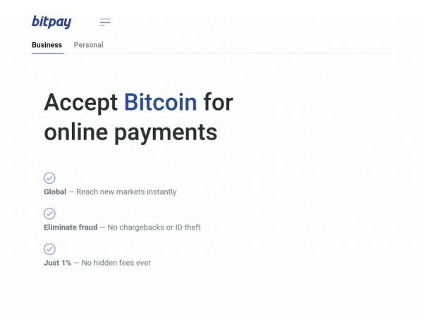 bitpay.com - BitPay – Get Started with Bitcoin Payments