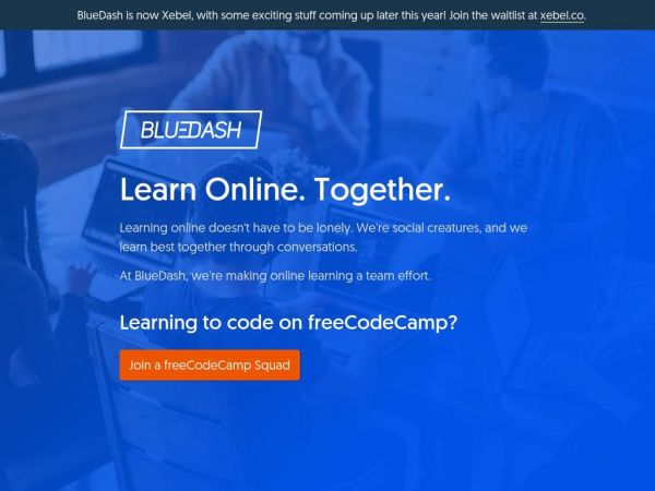 Learn Online, Together – BlueDash