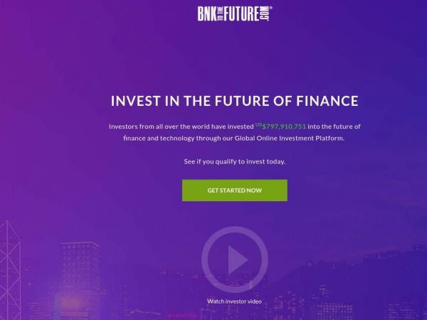 BnkToTheFuture.com - Online Investment Platform | Invest in the Future of Finance