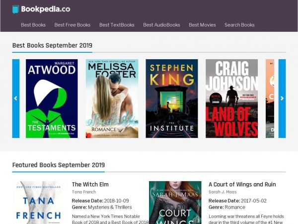 BookPedia - Books, E-Books and Audiobooks Portal