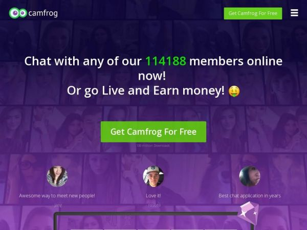 Camfrog: Video Chat Rooms, Online Group Chat & Live Webcams!