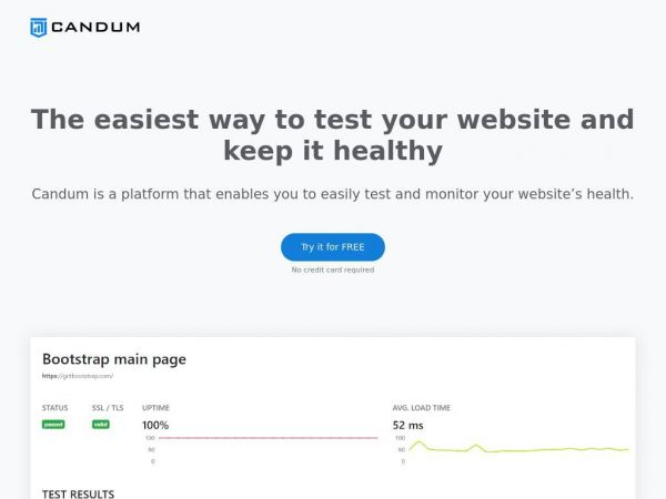 Candum | Keep your website healthy