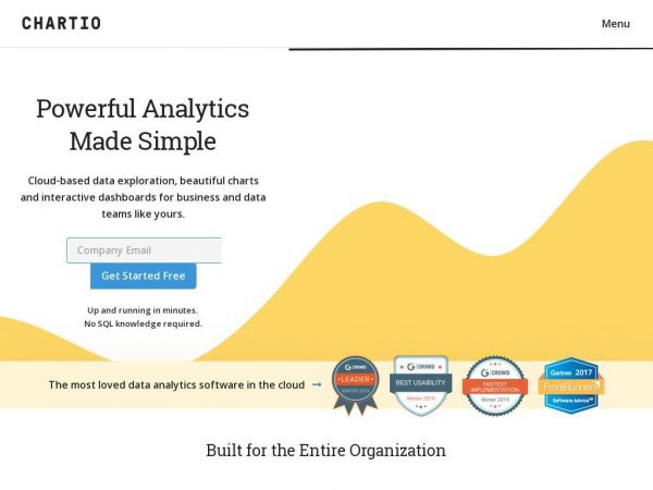 Cloud-based data analytics exploration for all | Chartio