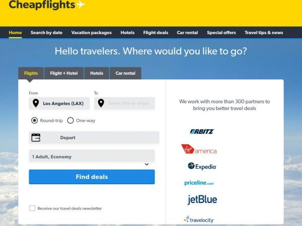 cheapflights.com - Cheap Flights, Airline Tickets & Airfares - Find Deals on Flights at Cheapflights.com
