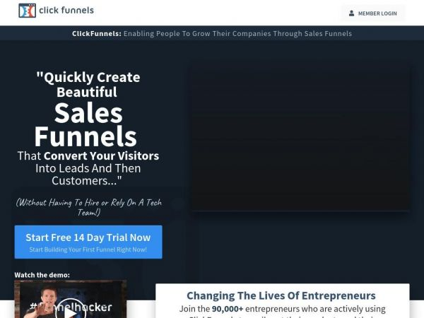 clickfunnels.com - ClickFunnels™ - Marketing Funnels Made Easy