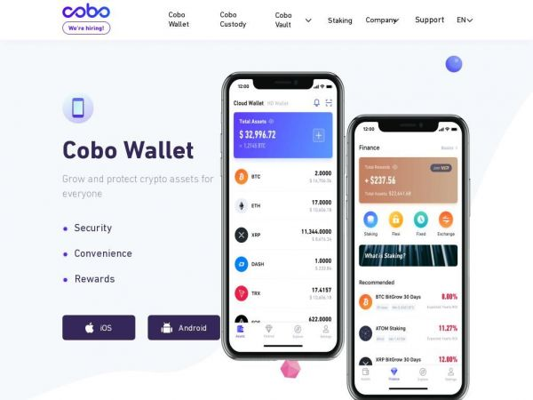 Cryptocurrency Wallet | POS Wallet & Mobile App | Cobo Wallet