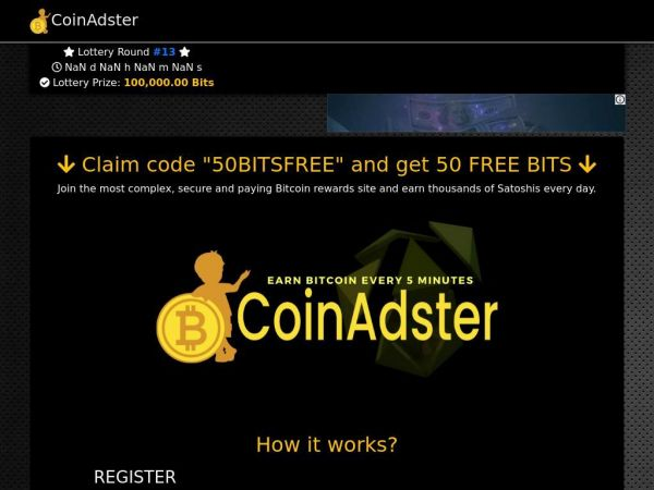 CoinAdster - more than just faucet!