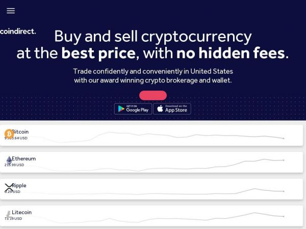 Cryptocurrency Exchange, Wallet & P2P Marketplace - Coindirect