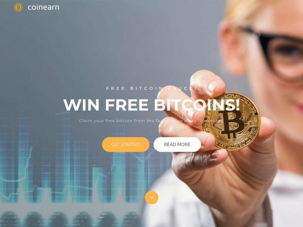 CoinEarn - Free Bitcoin Faucet, Win Free Bitcoins every 15 minutes!