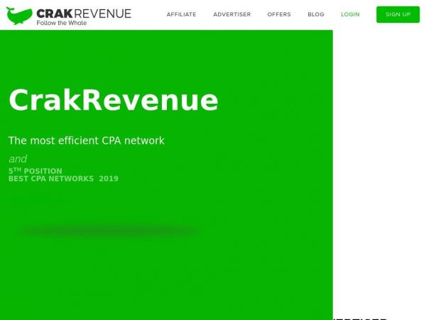 CrakRevenue: The Best and Most Trusted CPA Network