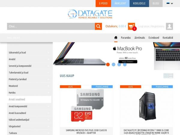 datagate.ee Datagate - Honest, Reliable IT solutions