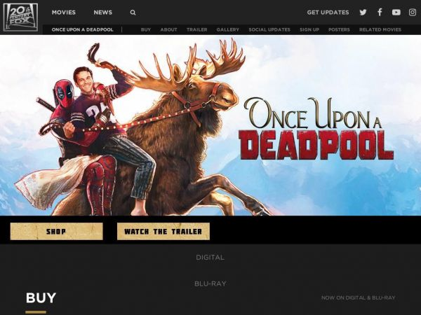 Once Upon a Deadpool | Fox Movies | Official Site