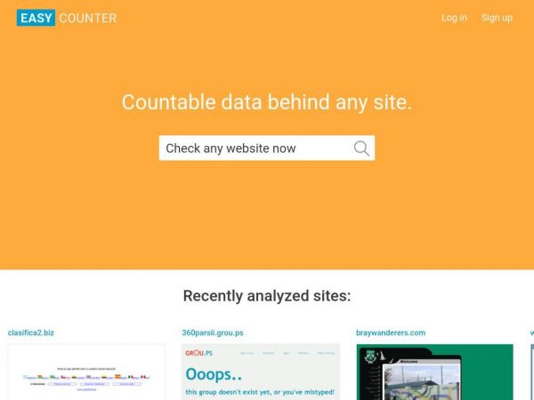 Easy Counter: Count web pages hits using only HTML