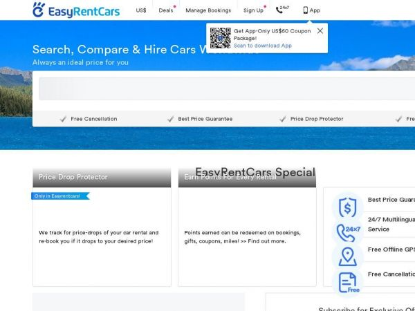 Easy Car Hire at affordable prices - Free cancellation | Easyrentcars.com