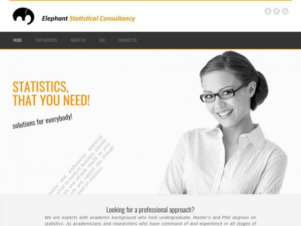 Elephant Statistical Consultancy Ltd. - Home
