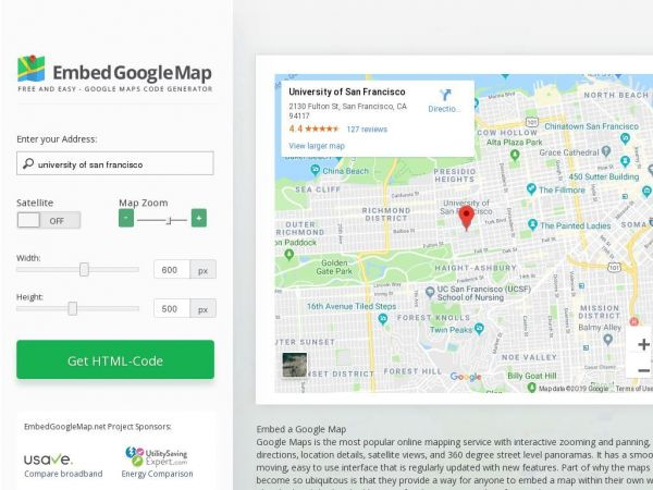 • Embed Google Map for Website –  Copy & Paste!