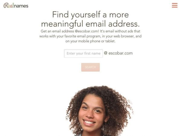 Realnames | A more meaningful email address