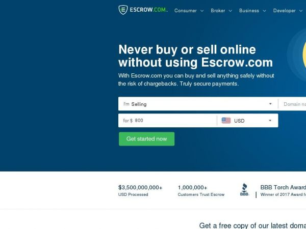 Escrow.com | Never buy or sell online without using Escrow.com.