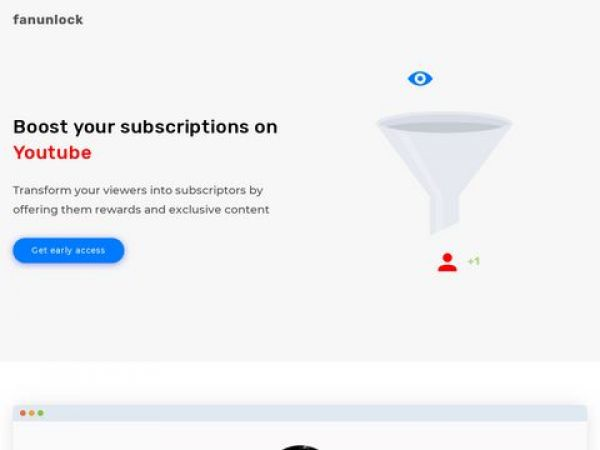 Fanunlock - Boost your subscriptions on youtube | Fanunlock - Boost your subscriptions on youtube