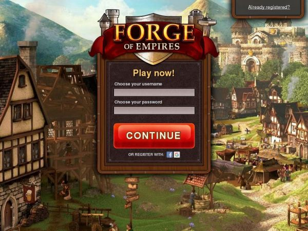 forgeofempires.com - Forge of Empires - Free online strategy game