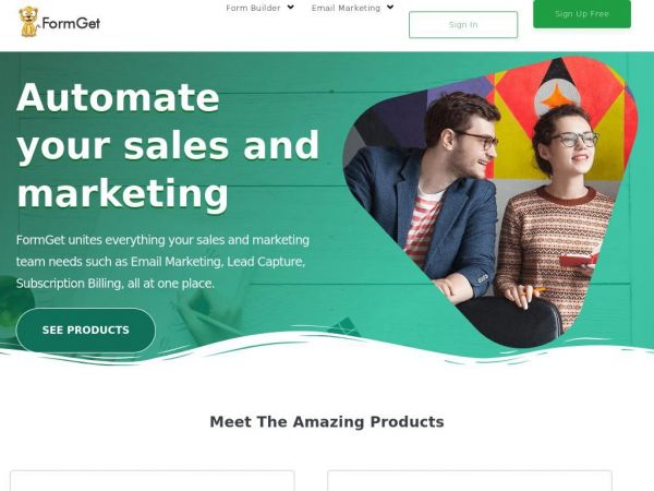 Online Form Builder & Email Marketing Software | FormGet