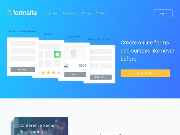 FormSite - Online Form Builder. Create HTML Forms & Surveys.