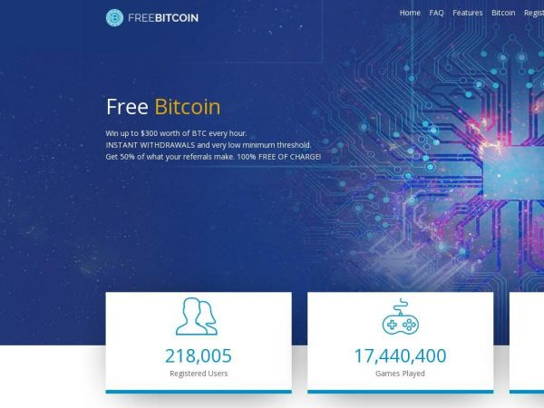 Free Bitcoin Cryptocurrency faucet | Free BTC Digital Currency | FreeBitcoin.io