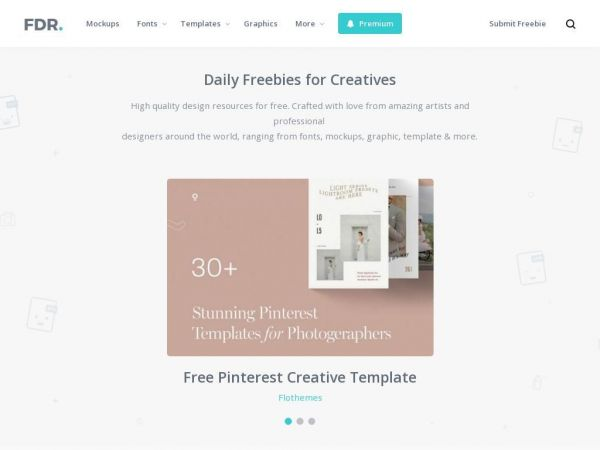 Free Design Resources - Free Graphics, Fonts, Templates and More