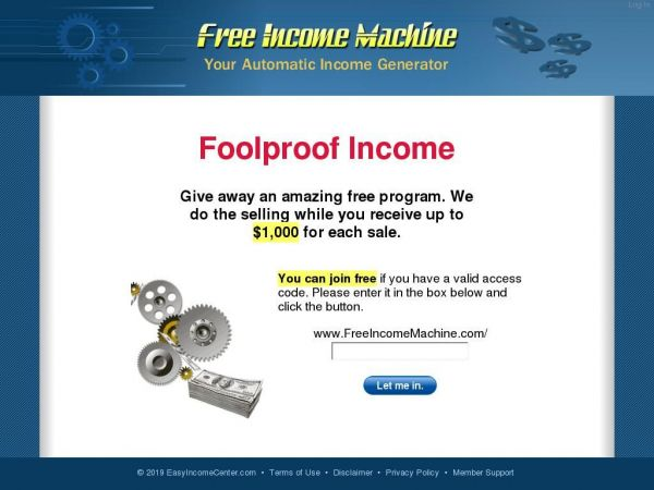 Free Income Machine