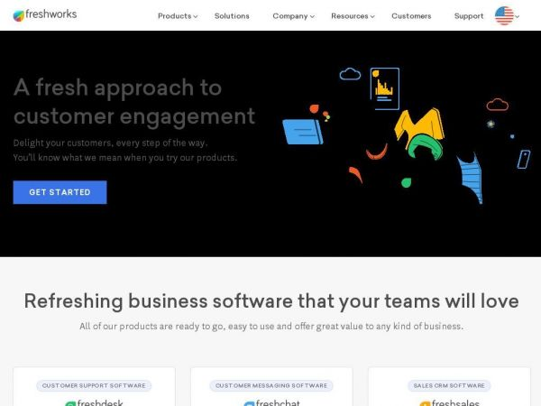Refreshing Cloud Business Software | SaaS | Freshworks Inc.