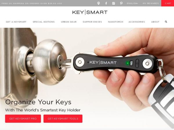 KeySmart - Premium Pocket Key Organizers & Key Holders - Made In The USA