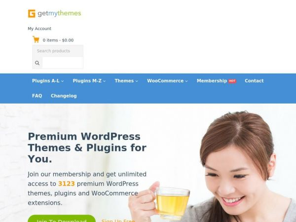 GetMyThemes - Premium WordPress Themes & Plugins