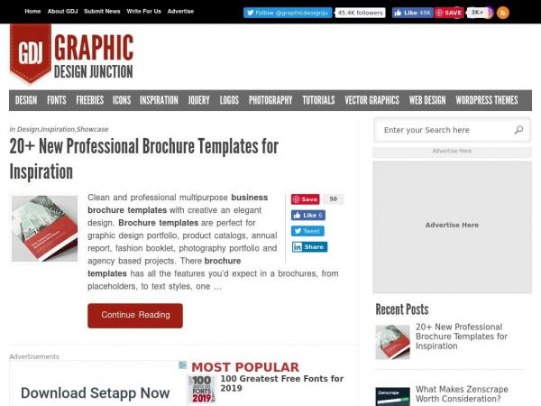 Graphic Design, Free Fonts, Vector Graphics, Business Cards, Logos, Icons, Photoshop Tutorials