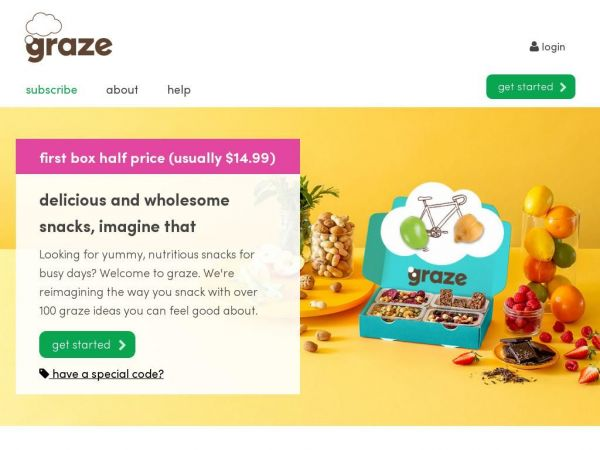 graze | snacks by mail